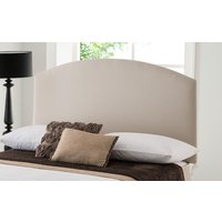 Silentnight Selene Headboard, Single, Sandstone