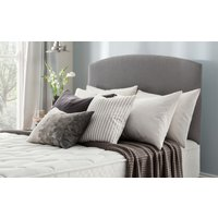 Silentnight Selene Headboard, Single, Slate Grey