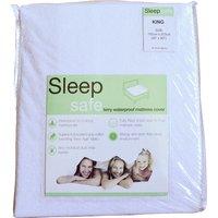 Sleep Safe Terry Waterproof Mattress Protector, Small Single