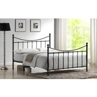 Time Living Alderley Metal Bed Frame, Small Double, Black