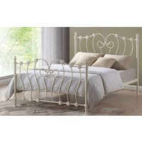 Time Living Inova Metal Bed Frame, Small Double, Black