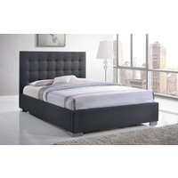 Time Living Nevada Fabric Bed Frame, Double, Sand