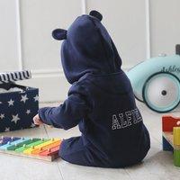 Personalised Baby Onesie - Navy - Onesie Gifts
