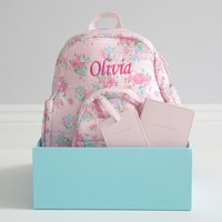 Personalised Pink Travel Set - Travel Gifts