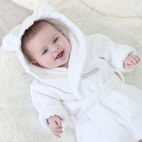 Personalised Hooded Towelling Robe - Bedroom Gifts