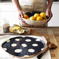 Cosmic Ceramic Platter