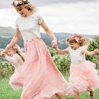 Chiffon Full Length Skirt Bridesmaid