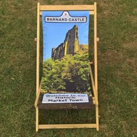 Dads Lockdown Escape Personalised Deckchair Mens Gift
