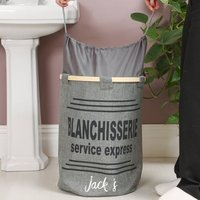 Personalised Express Service Grey Laundry Store
