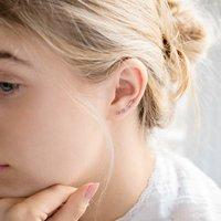 Sapphire Climber Earrings