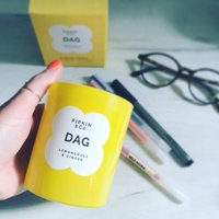 Dag Lemongrass And Ginger Scented Soy Candle
