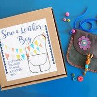 Sew A Leather Bag Kit