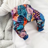 Feather Pattern Childrens Leggings