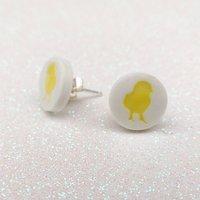 Easter Chick Stud Earrings