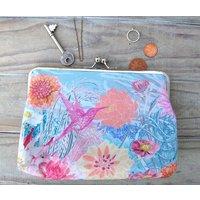 Faye Silk Clutch Bag
