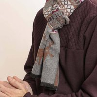 Nordic Stag Winter Scarf