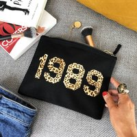 Personalised Year Make Up Bag