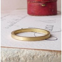 Nanna 18ct Fairtrade Womens Ethical Wedding Ring, Yellow Rose/Yellow/Rose