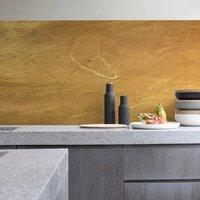Gold Kitchen Walls Backsplash Wallpaper