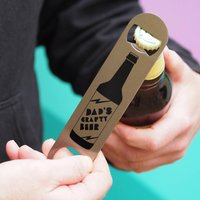Dad's Crafty Beer Bottle Opener