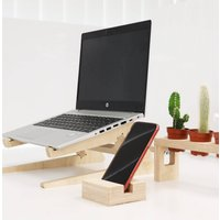 Laptop Stand, Phone And Succulent Holder Bundle