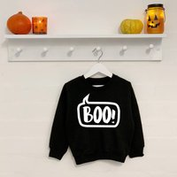 Boo! Kids Non Scary Halloween Sweatshirt