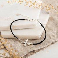 Sterling Silver Bee Bracelet, Silver