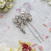 Breya Crystal Hair Pin