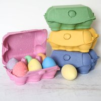 Box Of Chalk Eggs