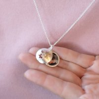 Personalised Butterfly Photo Locket