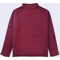 Alpina Donegal Wool Warm Red Scottish Jumper