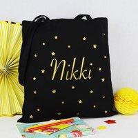 Personalised Stars Shopping Bag