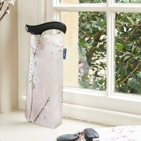 Purple Walking Stick With Cherry Blossoms Bag