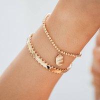 Personalised Path Reminder Stacking Bracelet