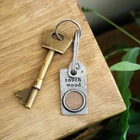 'Touch Wood' Keyring
