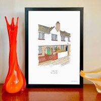 Personalised House Portrait Illustration