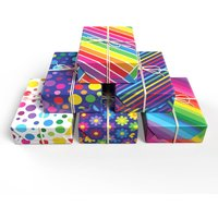 Rainbow Wrapping Paper Set