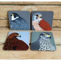 Birds Of Prey Coasters 'Choice Of Four Designs'