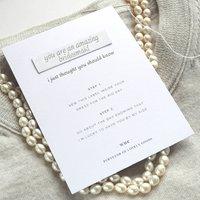 'Bridesmaid' Keepsake Sew In Label
