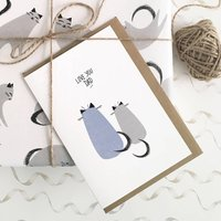 Fathers Day Card For Cat Dads