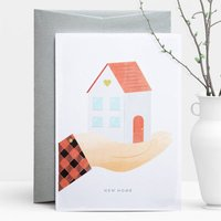 New Home Hand Greeting Card