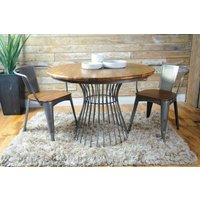 Birdcage Round Dining Table