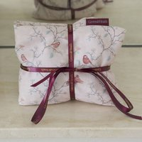 Wheat Bag With Lavender In Parus Bird Print