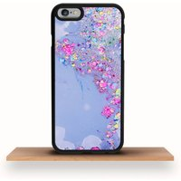 iPhone Case Paint Glitter Abstract Art