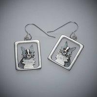 Sheepdog Border Collie Earrings