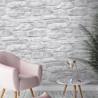 Rural Stone Wallpaper By Woodchip And Magnolia