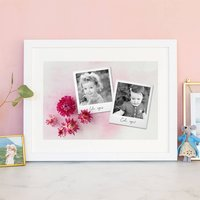 Personalised Photo Print For Sisters, Cousins, Friends