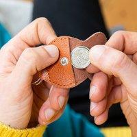 Lucky Sixpence Coin Token Keepsake Keyring 1928 To 1967