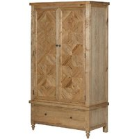 Chester Oak Parquet Double Wardrobe