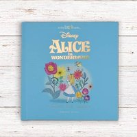Personalised Vintage Alice In Wonderland Disney Book